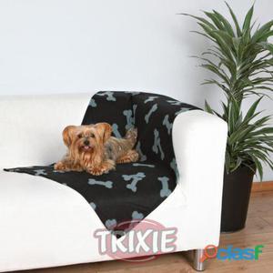 Trixie Manta afelpada Beany, 100x70 cm, Negro Negro