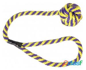 Trixie Pelota con Cuerda Nylon Flotante