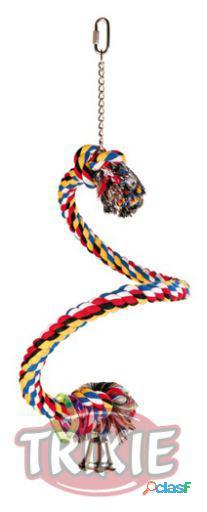 Trixie Percha Cuerda Multicolor Espiral 50 cm