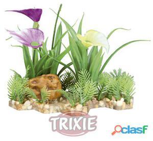 Trixie Plantas Plástico Base Grava 13 cm
