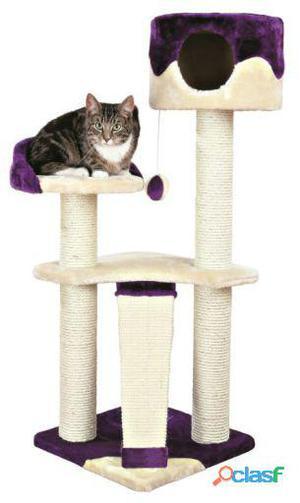 Trixie Poste Rascador Carla, 104 Cm, Beige/púrpura