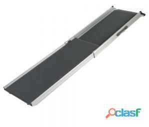Trixie Rampa Aluminio, 6.3 Kg, Negro 38x155 cm