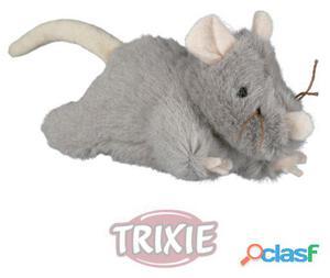 Trixie Ratón Peluche Con Sonido, 15 Cm