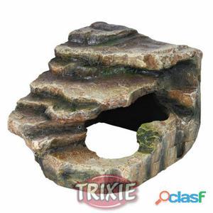 Trixie Roca Esquina Con Cueva Y Plataforma 16x12x15 cm