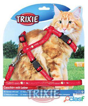Trixie Set Gatos, Cinta Diseño, Gatos Grandes, Nylon