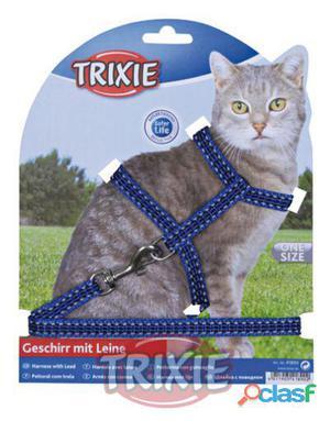 Trixie Set Gatos, Reflectante, Nylon