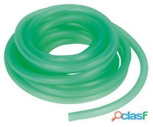 Trixie Tubo Aire Silicona, Ø 5 Mm,2.40 M, Verde