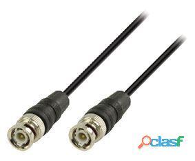 Valueline Cable Bnc De Bnc Macho A Bnc Macho De 3 M Negro 99