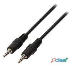 Valueline Cable De Audio Y Video Jack Estéreo De 0.50 M