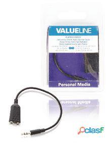 Valueline Cable Divisor Con Jack De Audio Y Video Estéreo