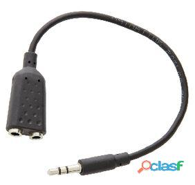 Valueline Cable Divisor De Audio Y Video 3.5 Mm Estéreo 12