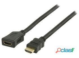 Valueline Cable Hdmi Alta Velocidad 1 m Negro 78 gr