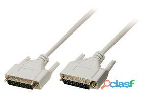 Valueline Cable Rs232 D-Sub 25-Pines Macho - D-Sub 25-Pines