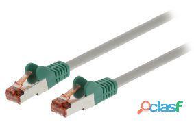 Valueline Cable de red cruzado macho-macho 1,00 m gris 49 gr