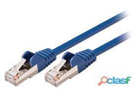 Valueline Cable de red macho a macho de 0.25 m azul 20 gr