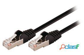 Valueline Cable de red macho a macho de 15.0 m negro 367 gr