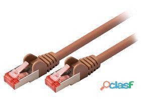 Valueline Cable de red macho a macho de 3.00 m marron 109 gr
