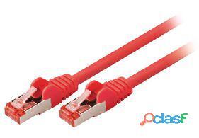 Valueline Cable de red macho a macho de 3.00 m rojo 111 gr