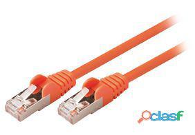 Valueline Cable de red macho a macho de 5.00 m naranja 27 gr
