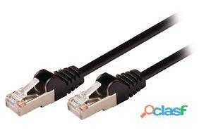 Valueline Cable de red macho a macho de 5.00 m negro 26 gr
