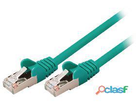 Valueline Cable de red macho a macho de 5.00 m verde 26 gr