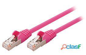 Valueline Cable de red macho a macho de 5.00 m violeta 27 gr
