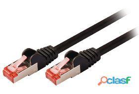 Valueline Cable de red macho a macho de 7.50 m negro 256 gr