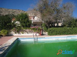 Venta de chalet en Aspe en ctra. de la Romana. Alicante.