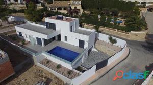 Villa de nueva construcción en Benissa
