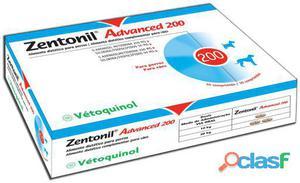 Vétoquinol Complemento Zentonil Advanced 200 mg 30