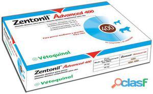 Vétoquinol Complemento Zentonil Advanced 400 mg 30