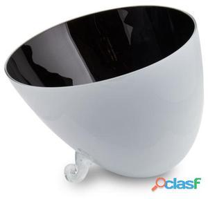 Wellindal Centro de Mesa cuenco negro 2.5 kg