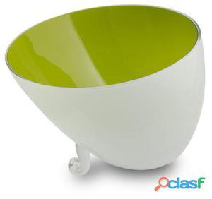 Wellindal Centro de Mesa cuenco verde 2.5 kg
