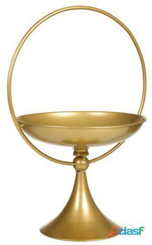 Wellindal Centro de Mesa oro envejecido 9.8 kg