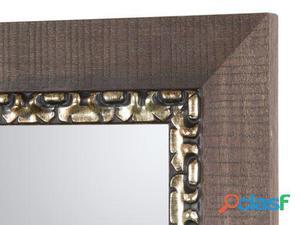 Wellindal Espejo Marco madera mosaico 80 kg