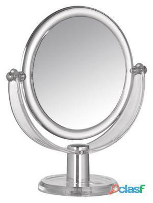 Wenko Espejo cosmética Acrilico redondo 15 cm D 3 aumentos