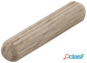 Wolfcraft Espigas de madera de haya Ø 6 mm (50 unds)