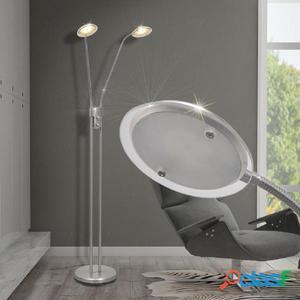 lámpara de pie regulable con LED 10 W