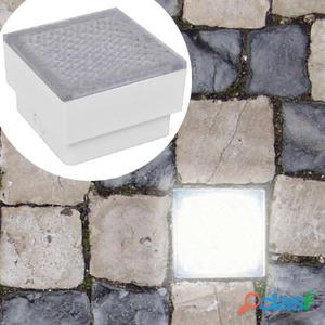 luces empotrables para el suelo 12 uds 100x100x68 mm