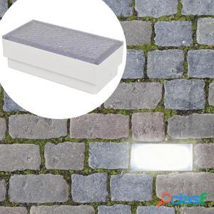 luces empotrables para el suelo 6 uds 100x200x68 mm