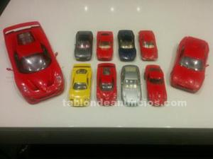 Colección coches ferrari en miniatura