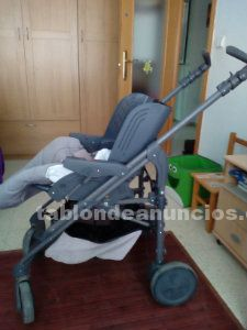 Vendo carrito de bebe chicco con accesorios