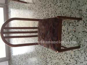 Vendo sillas de madera