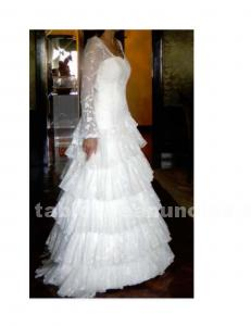 Vestido de novia de francis montesinos