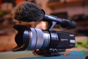 Cámara de vídeo Sony NEX VG10 HD1080 en perfecto estado