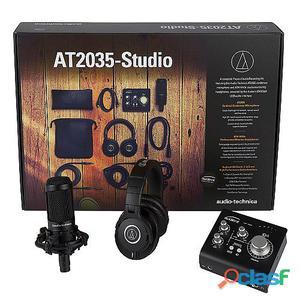 Audio Technica Kit de Grabación AT2035-Studio