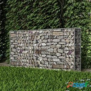 Cesta para muro de gaviones 200x30x100 cm acero