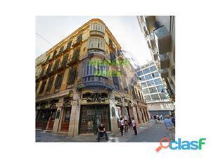 Edificio en centro histórico de Málaga