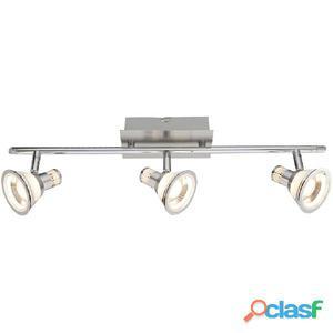 GLOBO Focos LED TAKIRO níquel y acrílico 56956-3