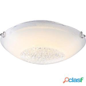 GLOBO Lámpara LED de techo DELPHI vidrio blanco 4041465